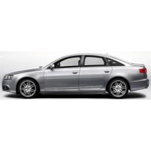 Audi A6 2009-2012 Painted Body Side Moldings
