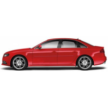 Audi A3 A4 2009 - UP Painted Body Side Moldings