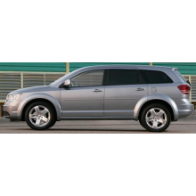 Dodge Journey 2009 - UP Painted Body Side Moldings