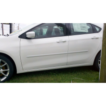 Dodge Dart 2013 - UP Painted Body Side Moldings