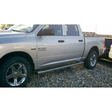 Dodge Ram Crew Cab 2009 - UP  Painted Body Side Moldings