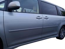 2011-2020 TOYOTA SIENNA BODY SIDE MOLDINGS WITH TRAP END