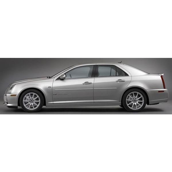 Cadillac Stsv: Cadillac STS 2005 2011 Painted Body Side Moldings