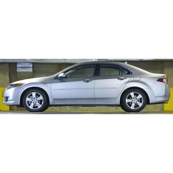 Acura TSX 2009 2010 Painted Body Side Moldings