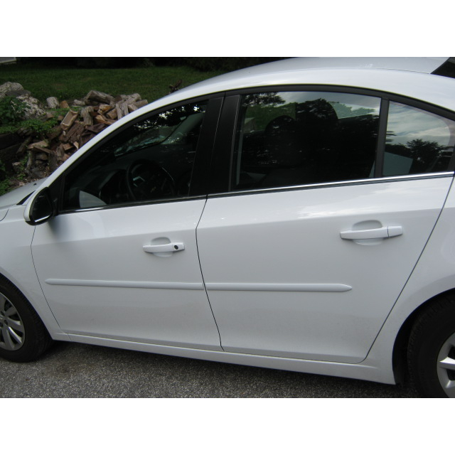 Chevrolet Cruze Painted Body Side Moldings Spoiler And