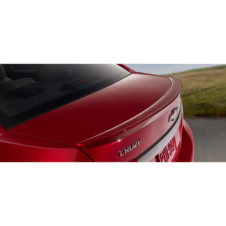 Chevrolet Cruze 2011 2013 Spoiler Painted Spoiler And