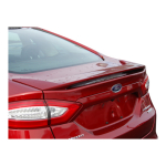 Ford Fusion 2013 - 2015 Factory Style Spoiler Painted