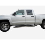 Chevrolet Silverado Double Cab 2014-2015 Painted Body Side Moldings