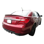 Chrysler 200 Factory Style Spoiler 2011 - 2014 Painted