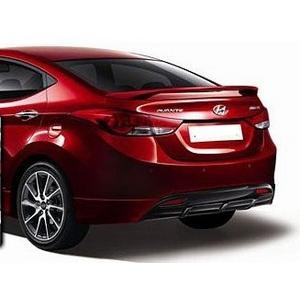 2011 2013 Hyundai Elantra Spoiler 99 Painted Spoiler And