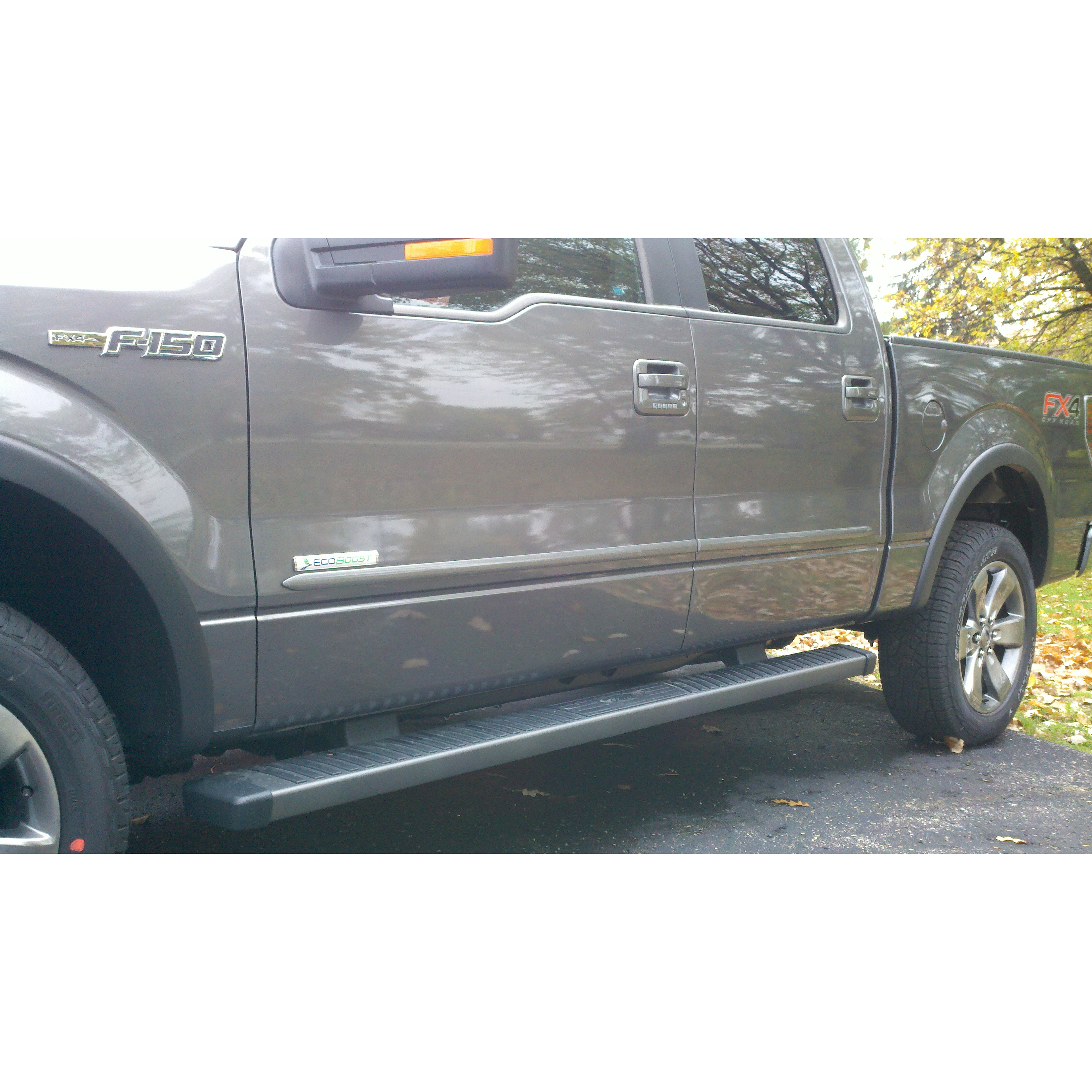 Ford F150 Super Cab 2011 2013 Painted Body Side Moldings