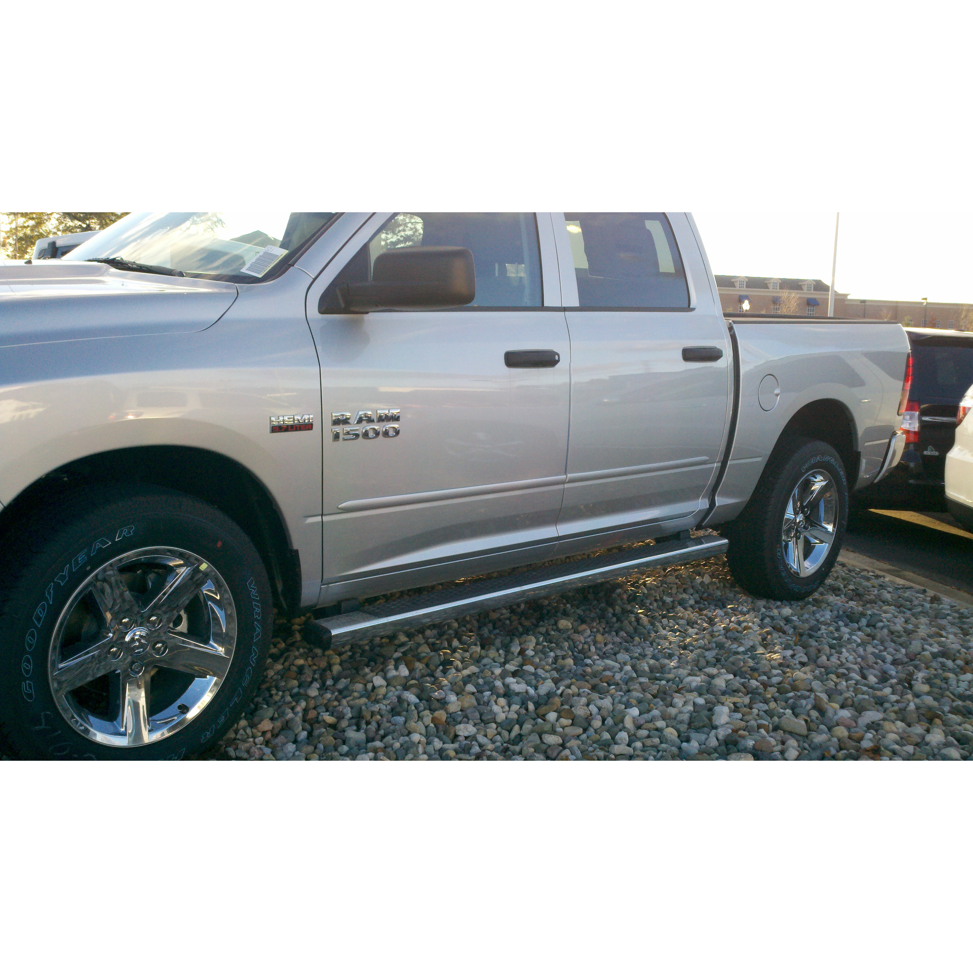 Dodge Ram 2009 2013 Quad Cab Painted Body Side Moldings