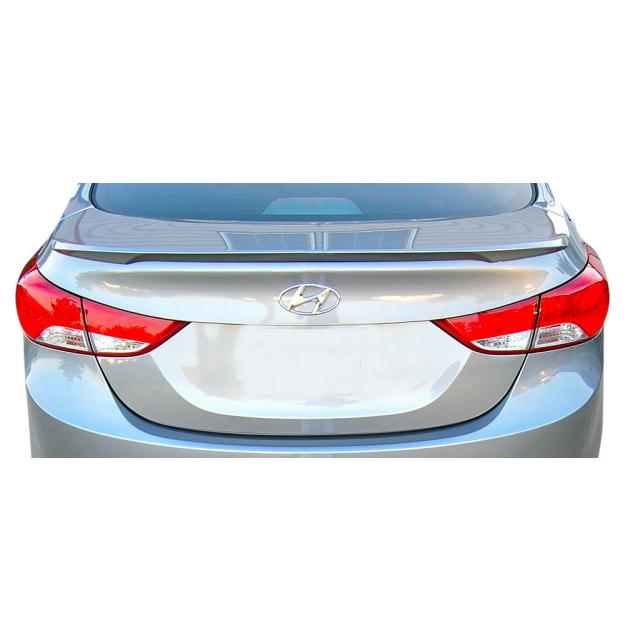 Hyundai Elantra 2011 2013 Lip Spoiler Painted Spoiler