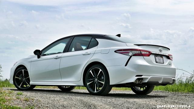 New Product 2018 Toyota Camry Factory Style Lip Spoiler Spoiler