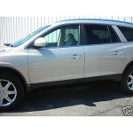 Buick Enclave 2008-UP  Painted Body Side Moldings