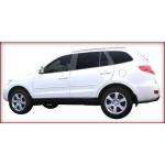 Hyundai Santa Fe 2007-2009 Painted Body Side Moldings
