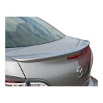 DISCOUNTED SALE PRICE Mazda 3 2010 -2013 Factory Style Lip Spoiler Painted