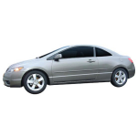 Honda Civic 2 Door 2006 - 2011 Painted Body Side Moldings