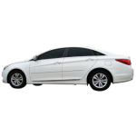 Hyundai Sonata Painted Body Side Moldings 2011-2018
