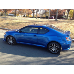 Scion tc 2011-2016 Painted Body Side Moldings