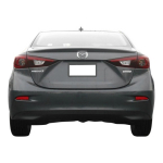 Mazda 3 Factory Style Spoiler fits the 2014-2017